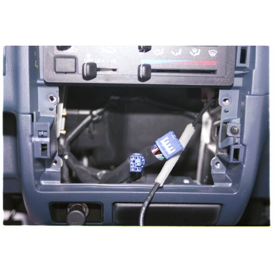 1996 Toyota T100 Factory radio removed