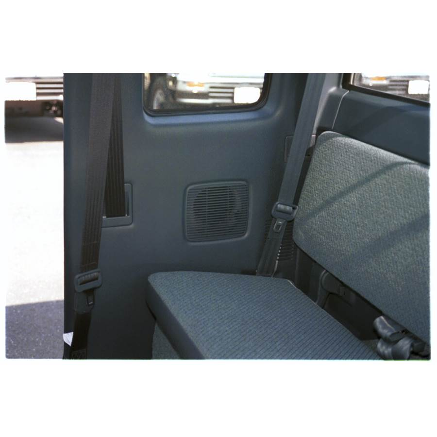 1996 Toyota T100 Rear cab speaker location