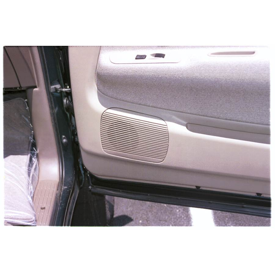 1996 Toyota T100 Front door speaker location