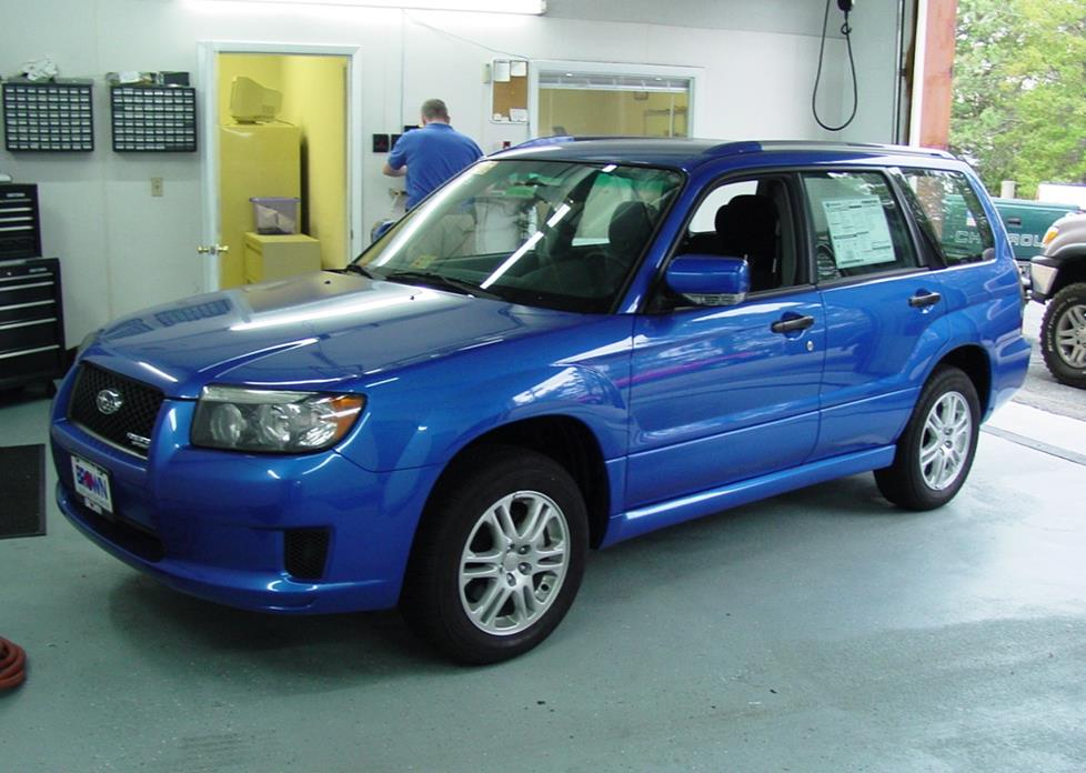 2003 2008 Subaru Forester Car Audio Profile