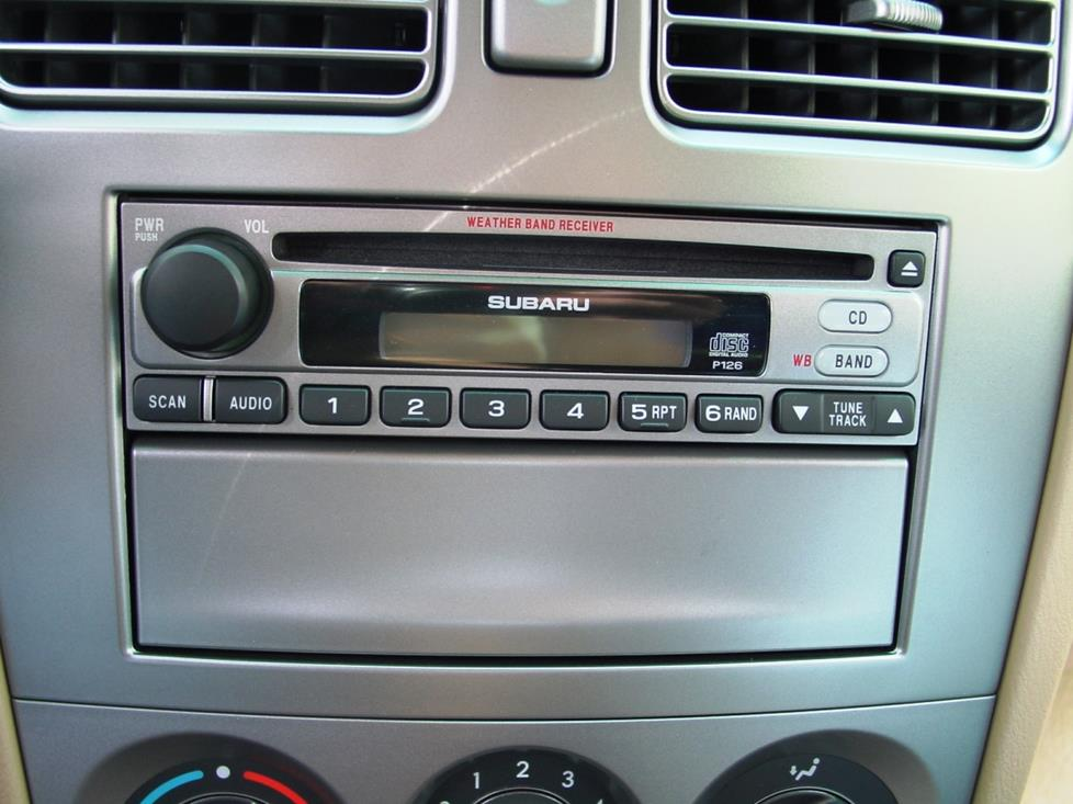 radio1 2003 2008 subaru forester car audio profile 2005 Forester at n-0.co