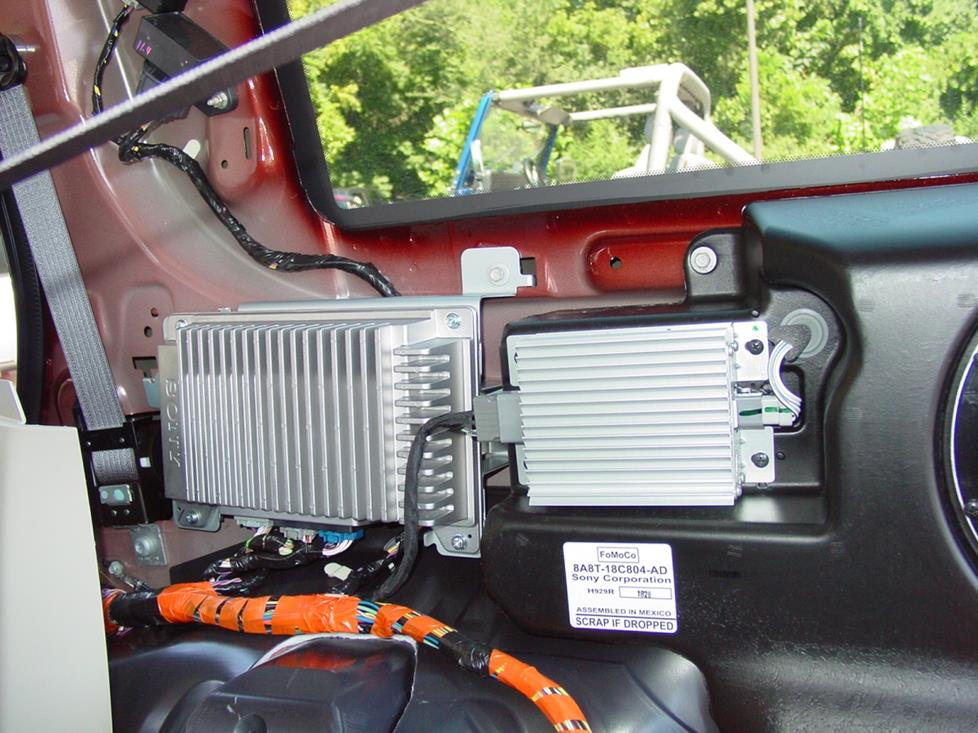 2009 2012 Ford Flex Car Audio Profile