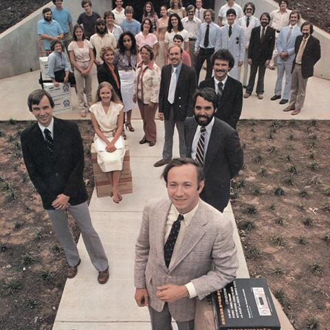Back in 1979, we moved into our new HQ building in Charlottesville, VA.