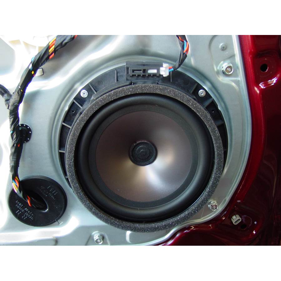 2012 Hyundai Genesis Rear door woofer