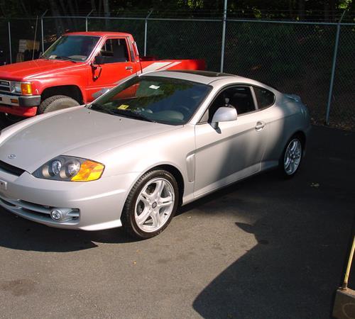 1998 Hyundai Tiburon Exterior