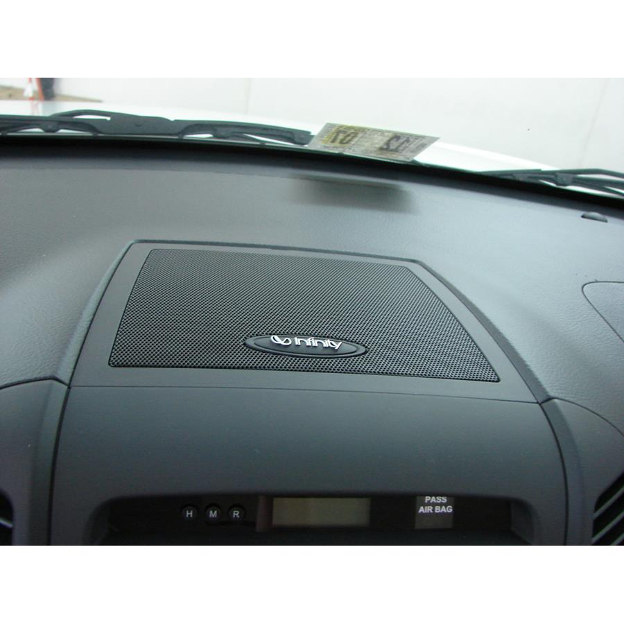 2008 Hyundai Santa Fe Center dash speaker location