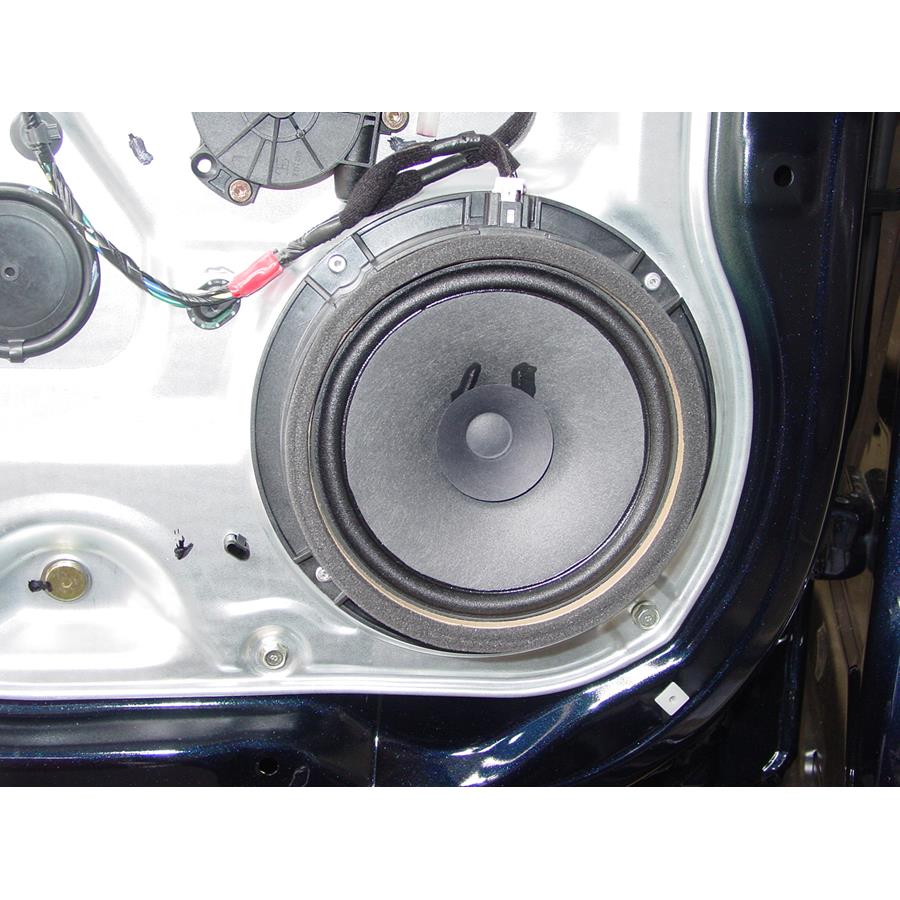 2008 Hyundai Santa Fe Rear door speaker