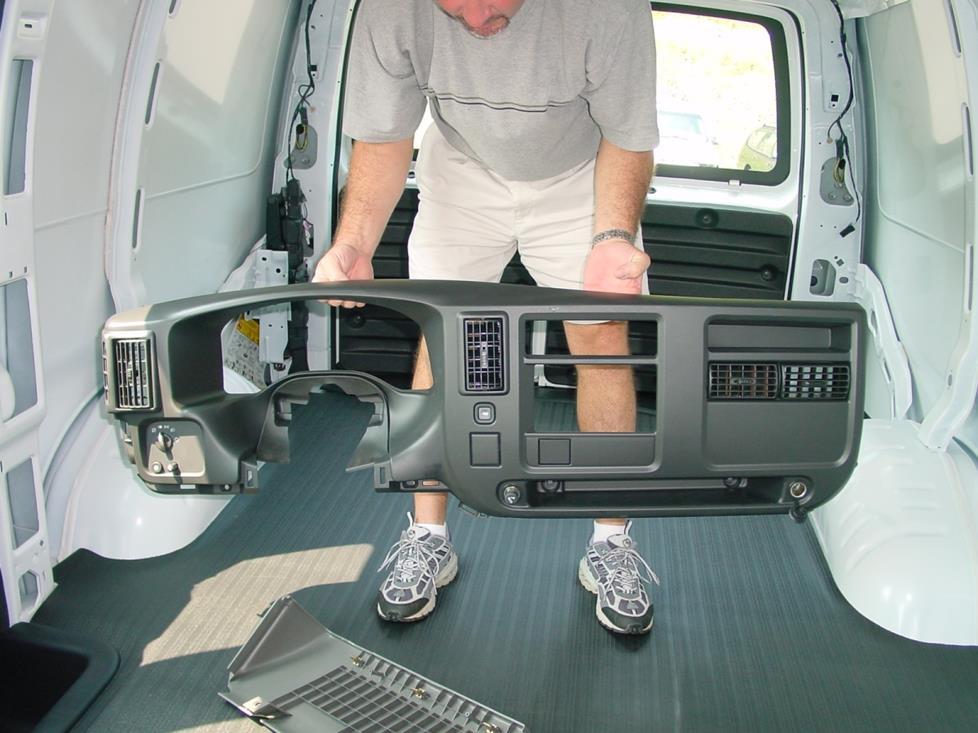 2003 Up Chevrolet Express And Gmc Savana Car Audio Profile