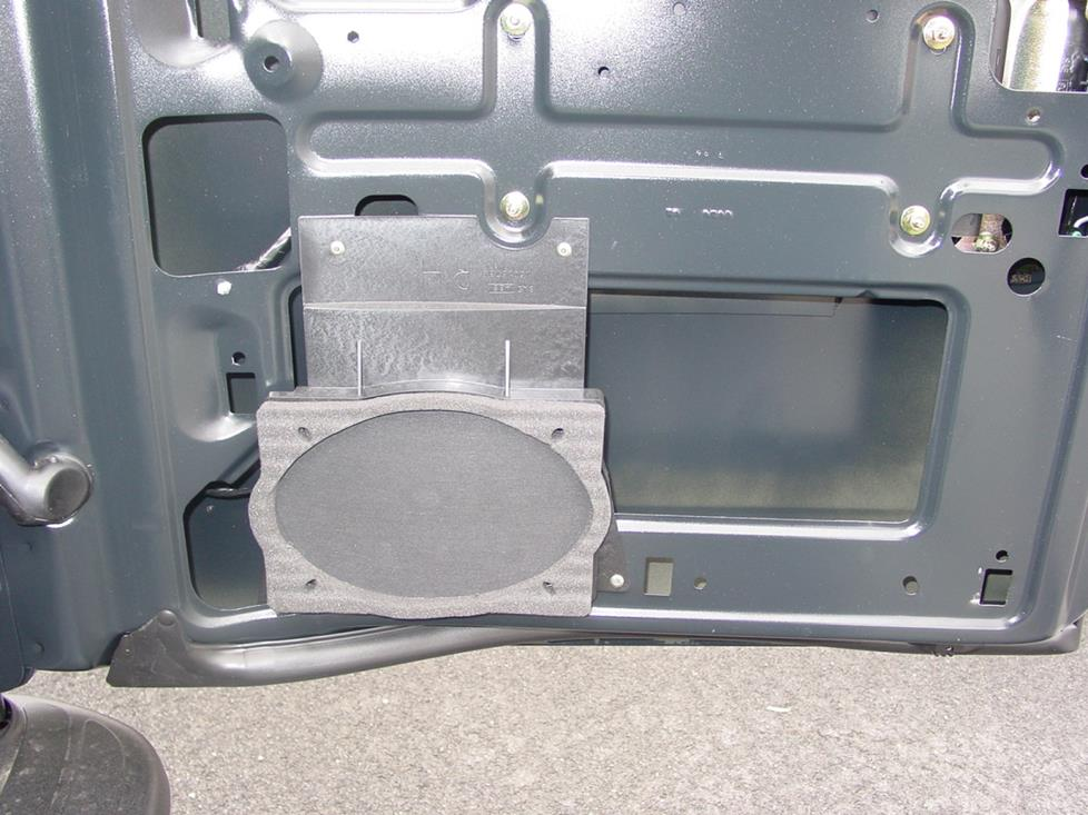 chevy express gmc savana rear door speaker