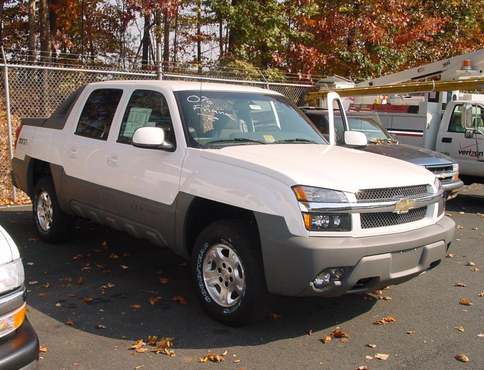 2002 chevrolet avalanche car audio profile. Black Bedroom Furniture Sets. Home Design Ideas