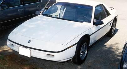 1984-1988 Pontiac Fiero