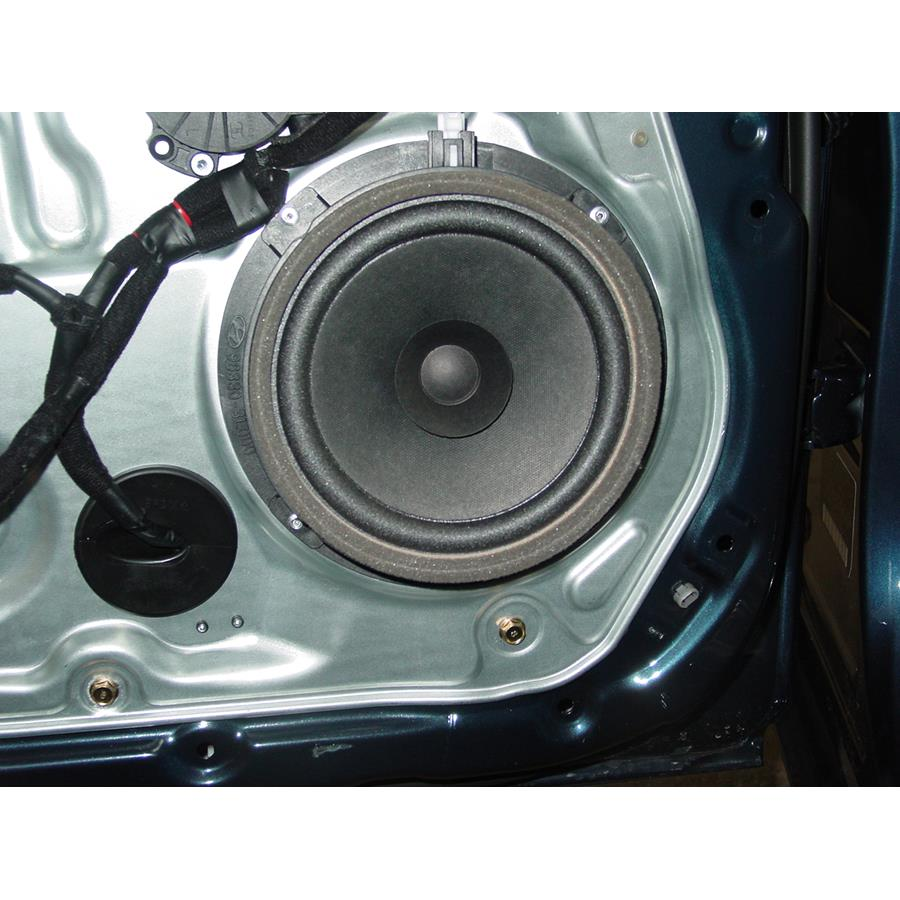 2011 Hyundai Azera Rear door speaker