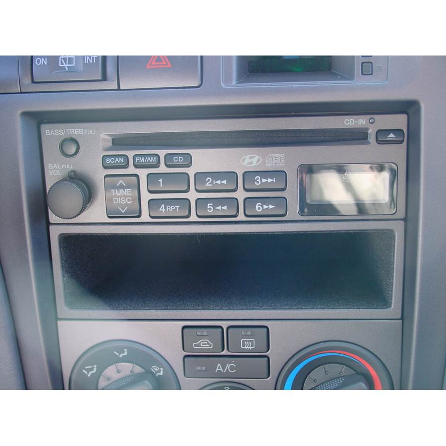 2001 Hyundai Elantra Other factory radio option