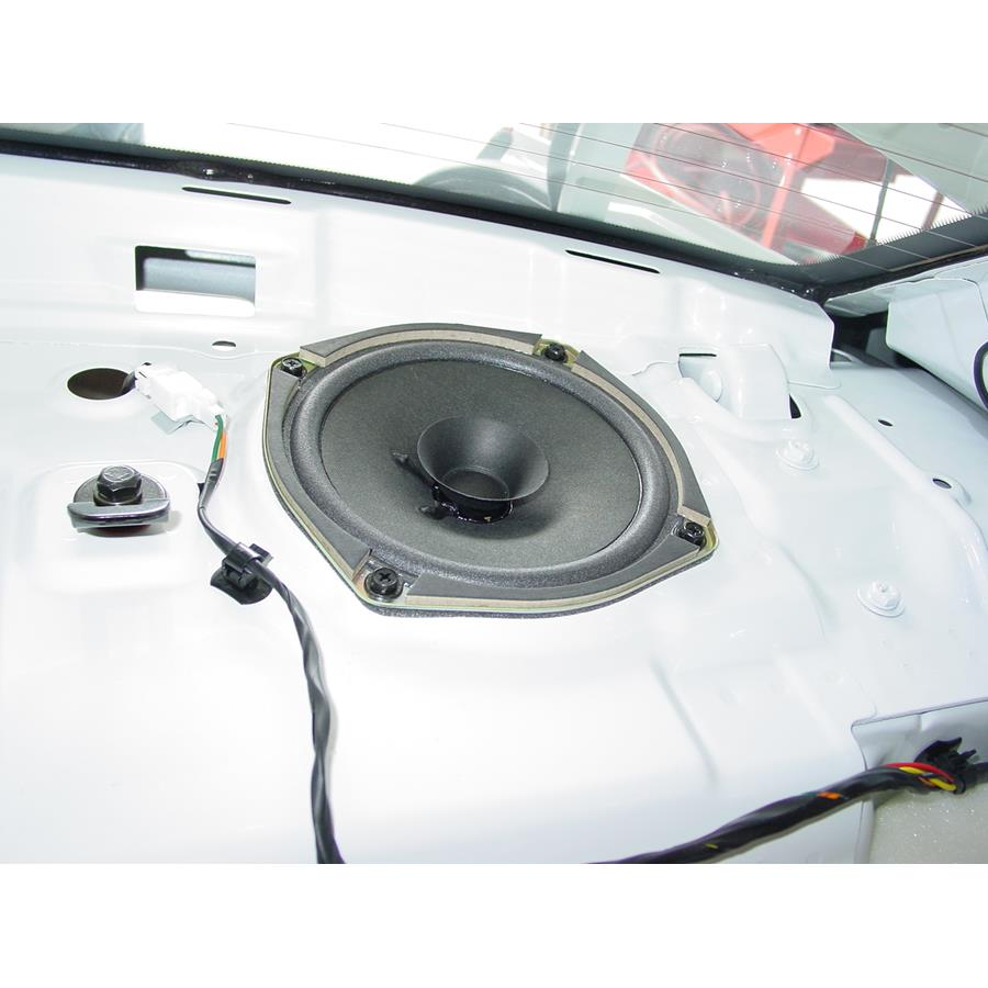 2005 Hyundai Accent Rear deck speaker