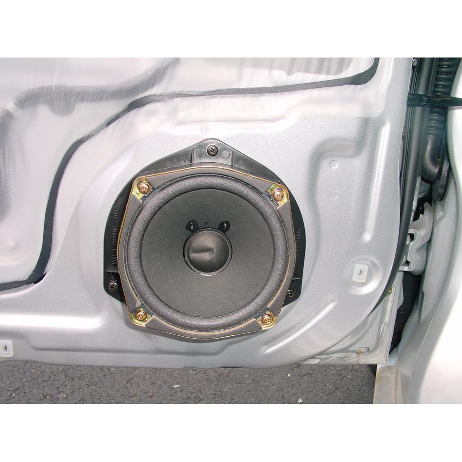 2005 Hyundai Accent Front door speaker