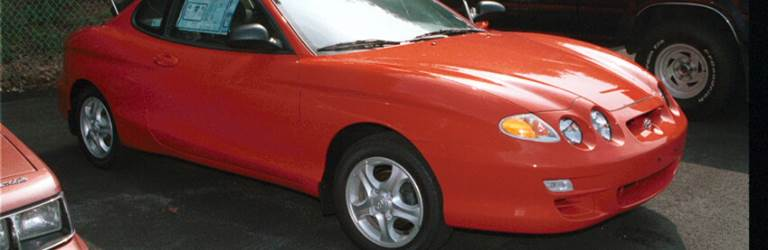 1999 Hyundai Tiburon Exterior