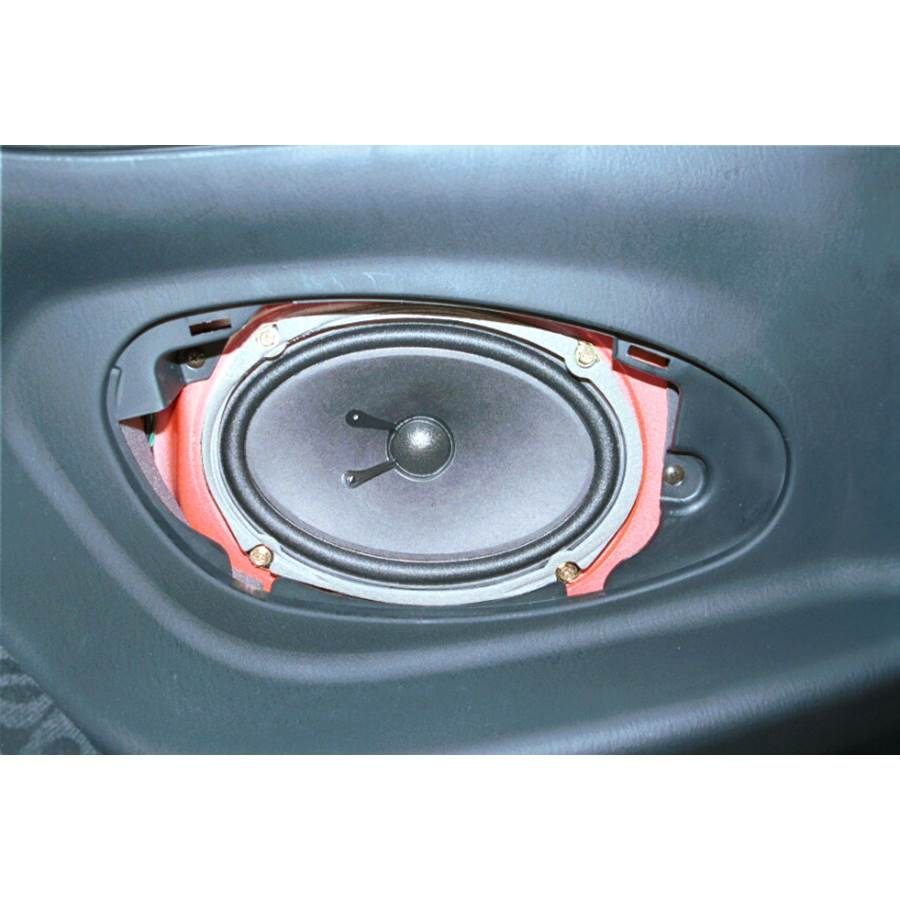 2000 Hyundai Tiburon Rear side panel speaker