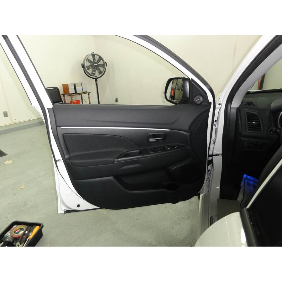 2015 Mitsubishi Outlander Sport Front door speaker location