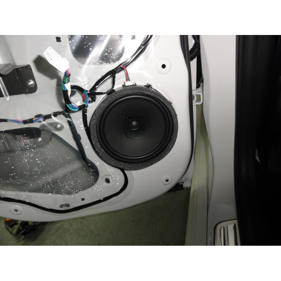 2015 Mitsubishi Outlander Sport Rear door speaker