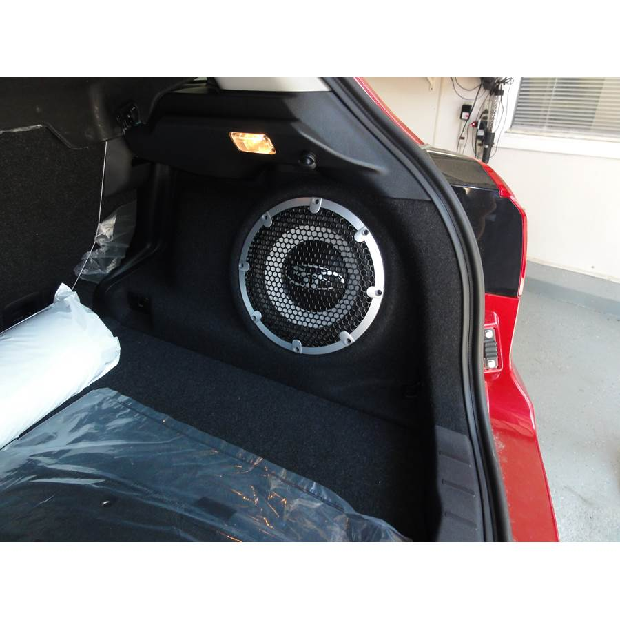 2015 Mitsubishi Outlander Sport Far-rear side speaker location