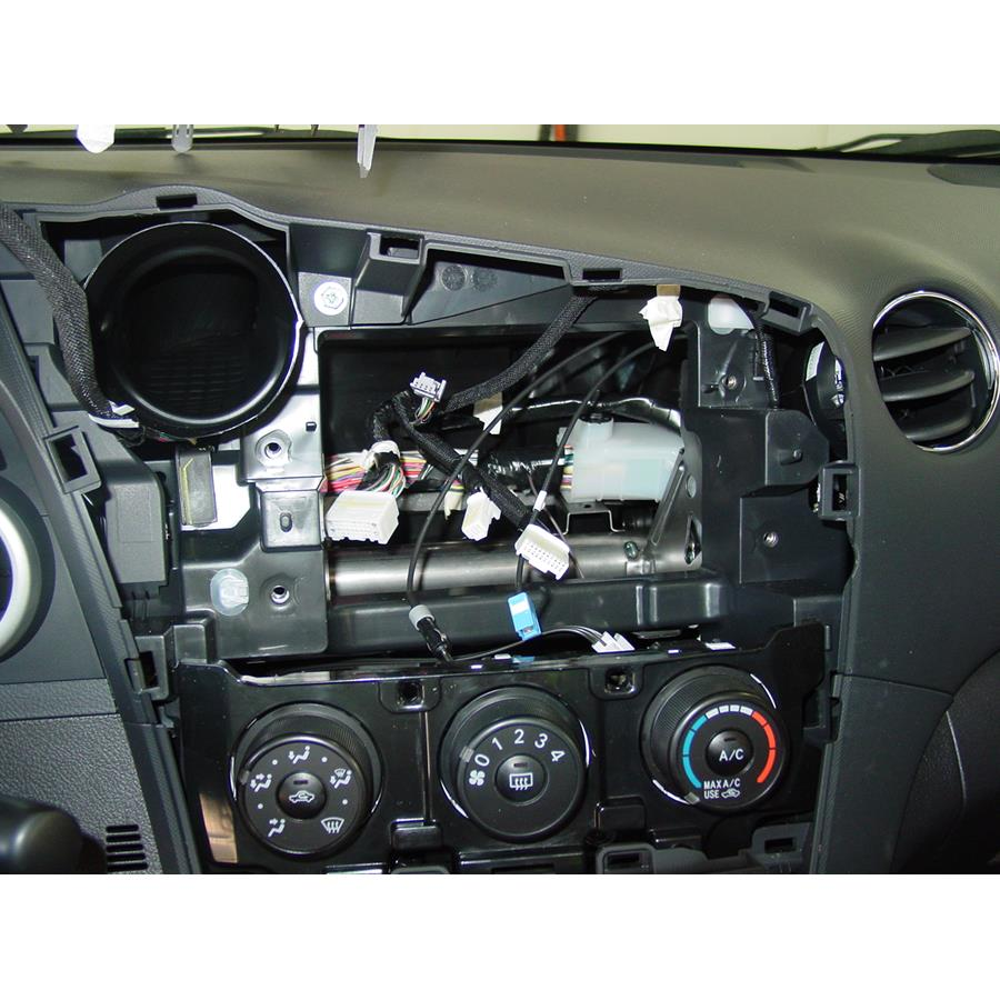 2013 Toyota Matrix Factory radio removed