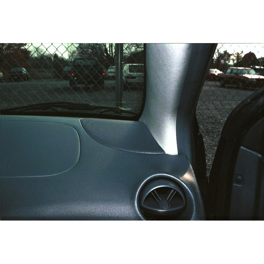 2005 Toyota Echo Dash speaker location