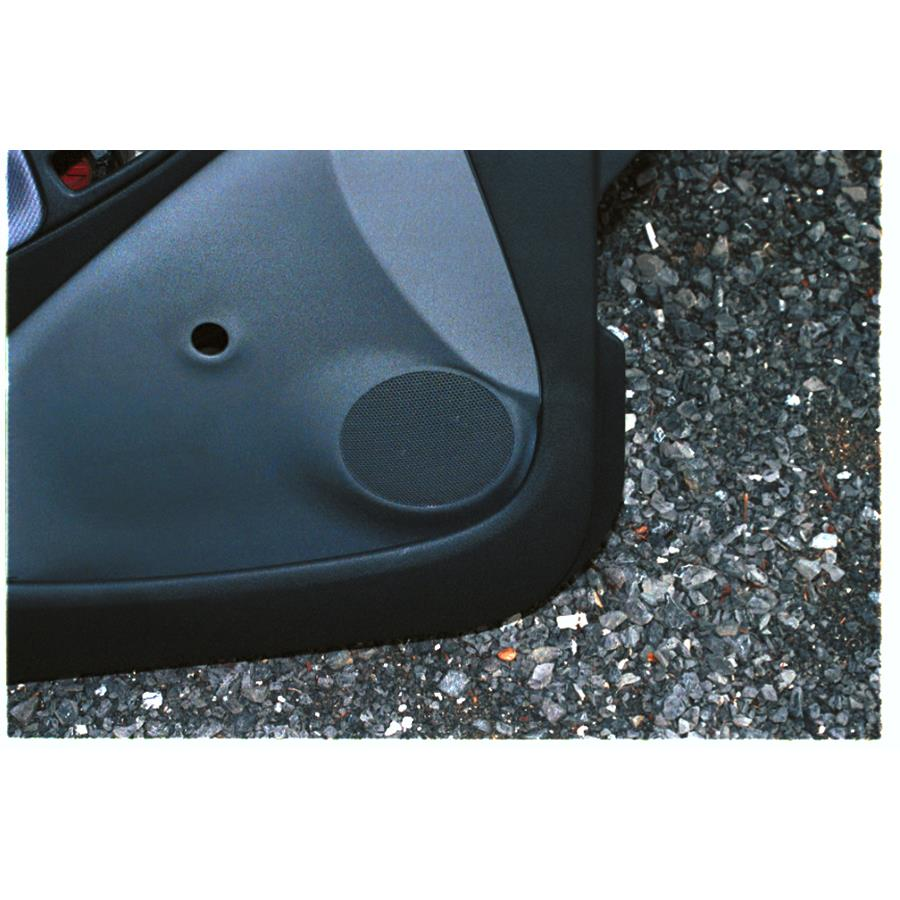 2005 Toyota Echo Front door speaker location