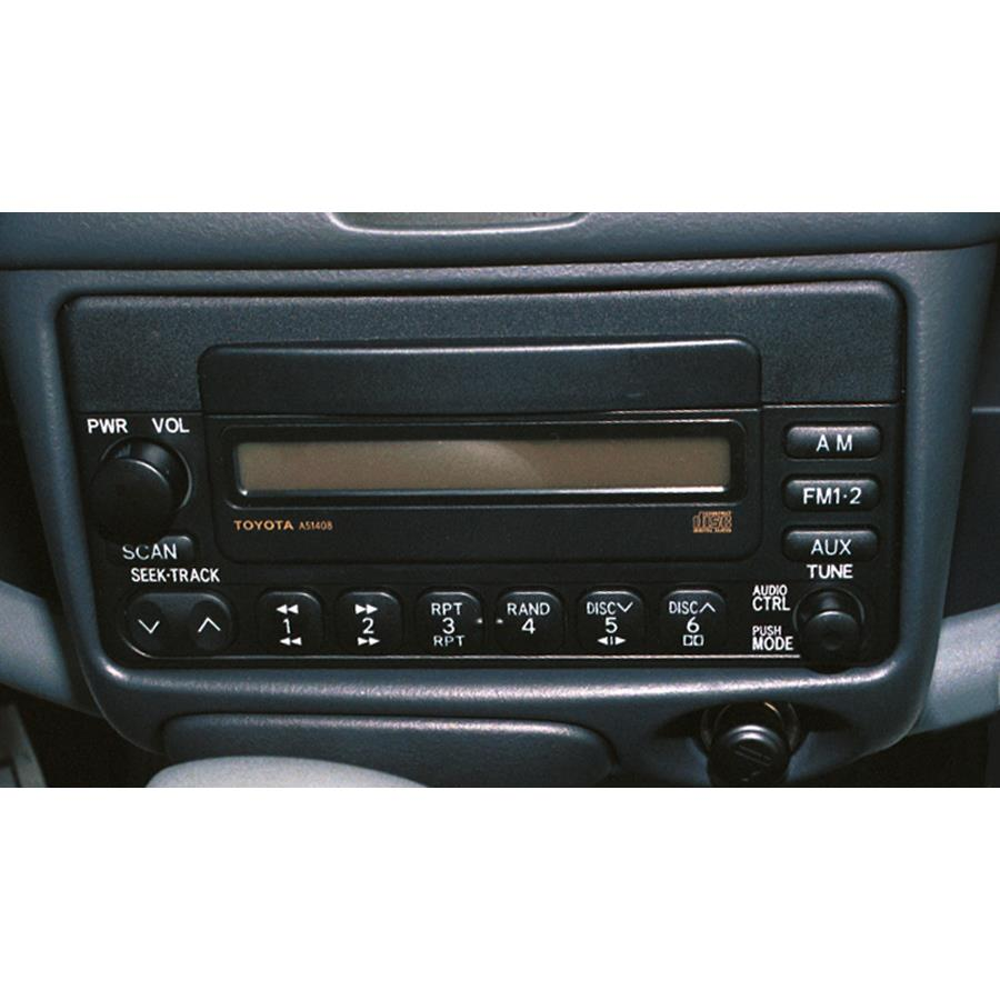 2005 Toyota Echo Factory Radio