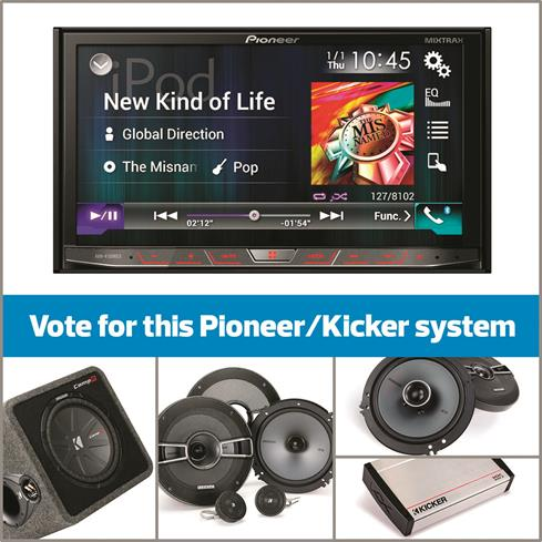 Pioneer and Kicker system