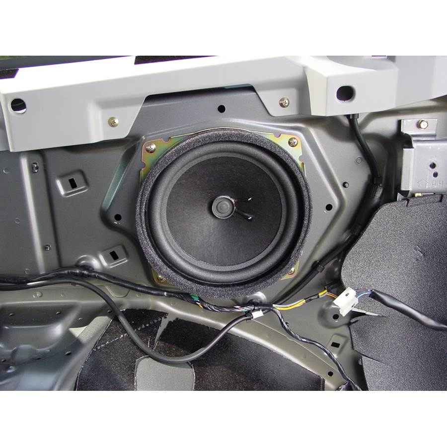 2006 Mitsubishi Endeavor Far-rear side speaker