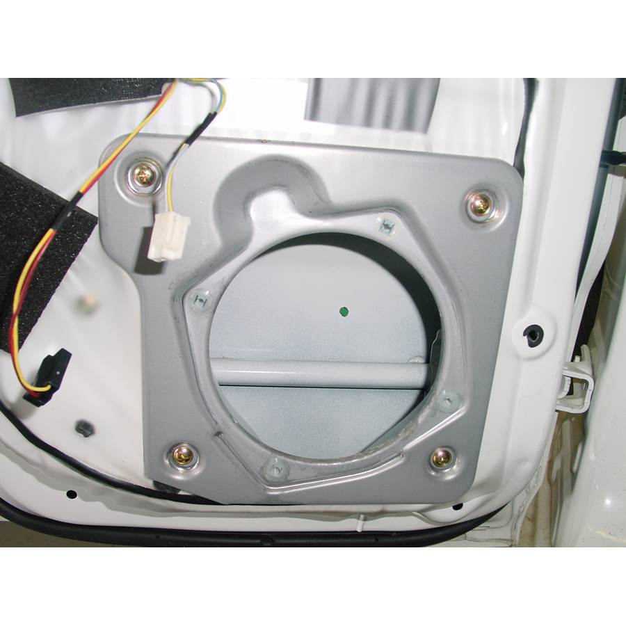 2002 Mitsubishi Montero Rear door speaker removed