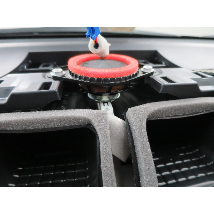 2014 Toyota Camry Center dash speaker location