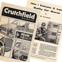 The reenvisioned Crutchfield catalog