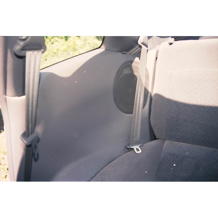 1998 Eagle Talon Rear side panel speaker location
