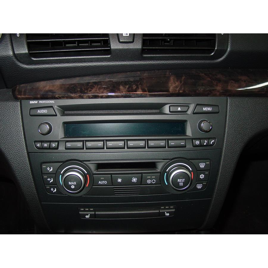 2010 BMW 1 Series Factory Radio
