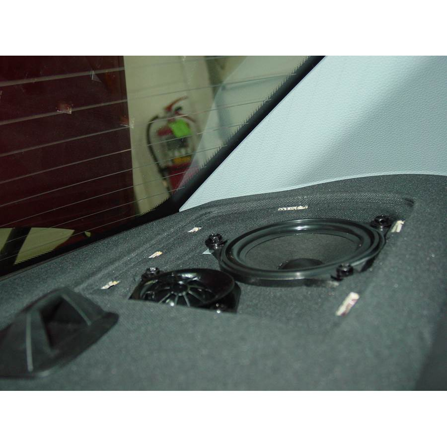 2010 BMW 1 Series Rear deck speaker