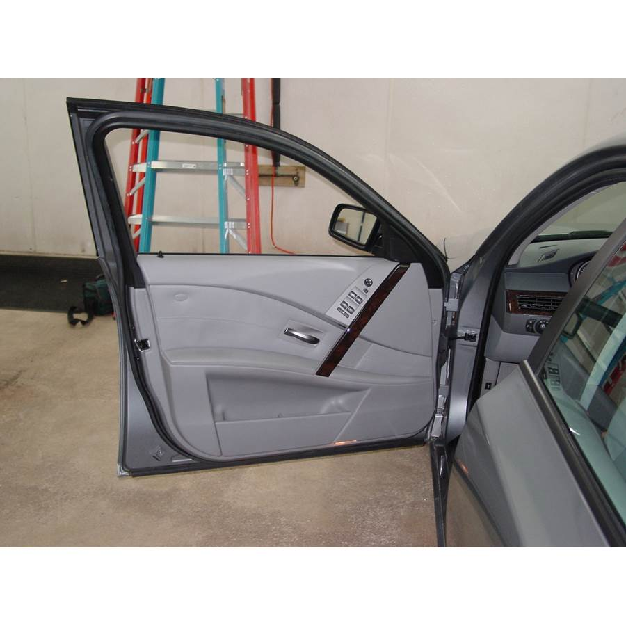 2004 BMW 5 Series Front door speaker location