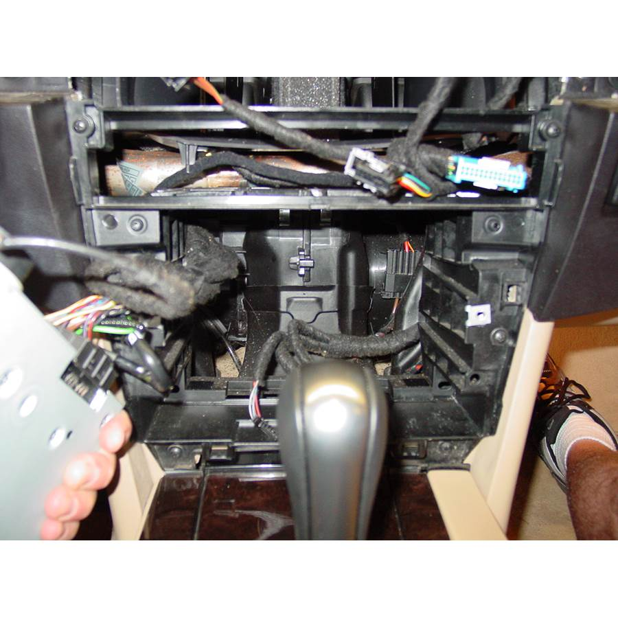 2004 BMW 5 Series Factory radio removed