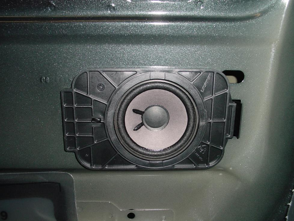 Rear door speaker