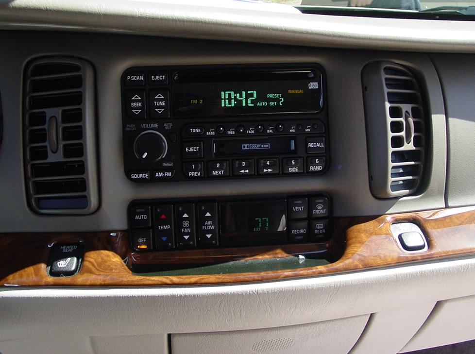 Upgrading the Stereo System in Your 1997-2005 Buick Park AvenueCrutchfield