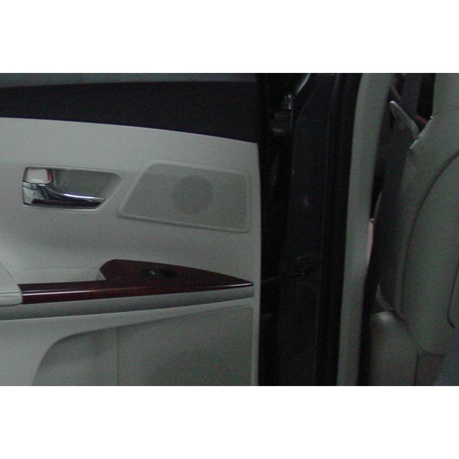 2013 Toyota Venza Rear door tweeter location