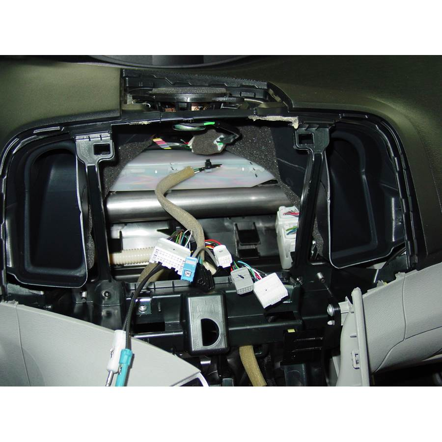 2013 Toyota Venza Factory radio removed