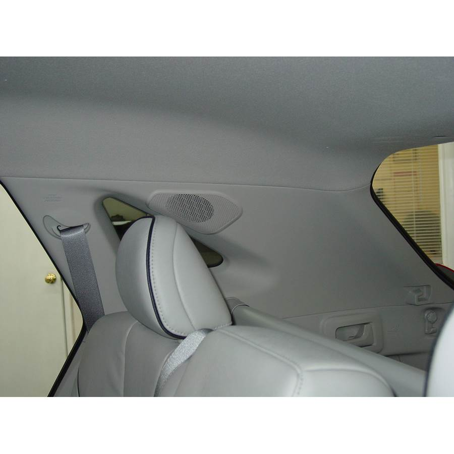 2013 Toyota Venza Rear pillar speaker location