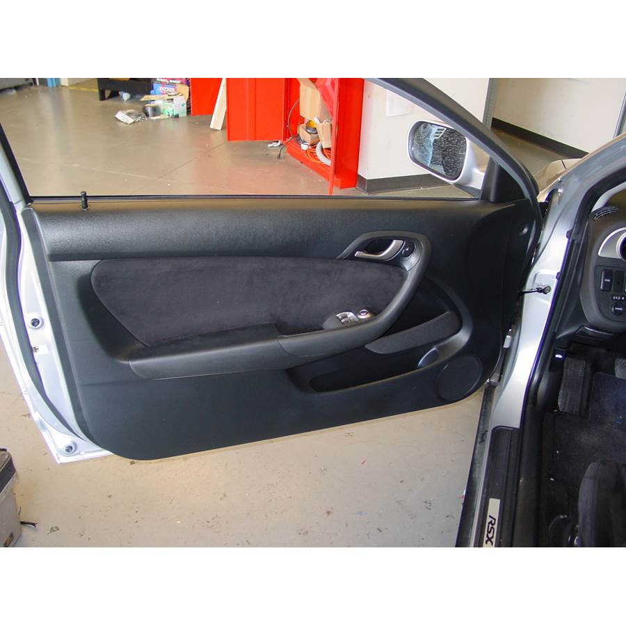 2005 Acura RSX Front door speaker location