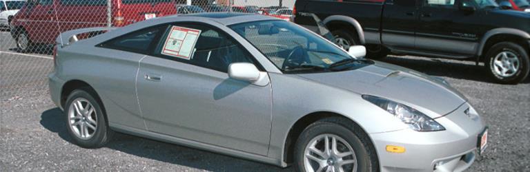2002 Toyota Celica GTS Exterior 2002 Toyota Celica GTS Exterior