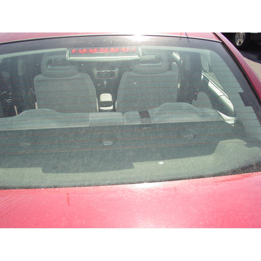 2005 Saturn ION 2 Rear deck speaker location