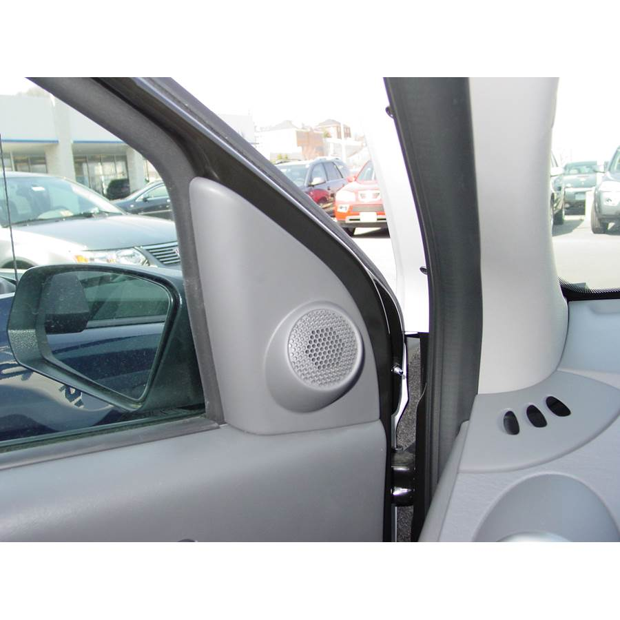 2005 Saturn ION 2 Front door tweeter location