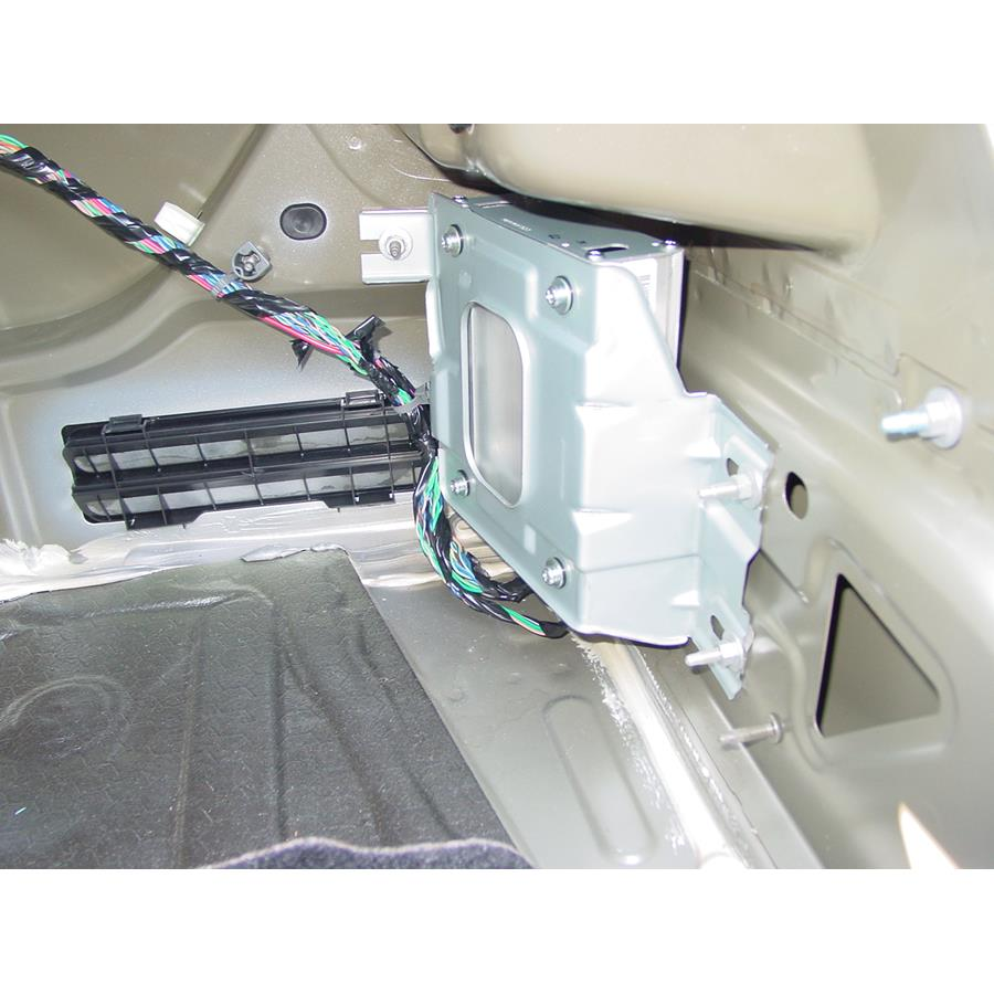 2009 Saturn Aura Factory amplifier