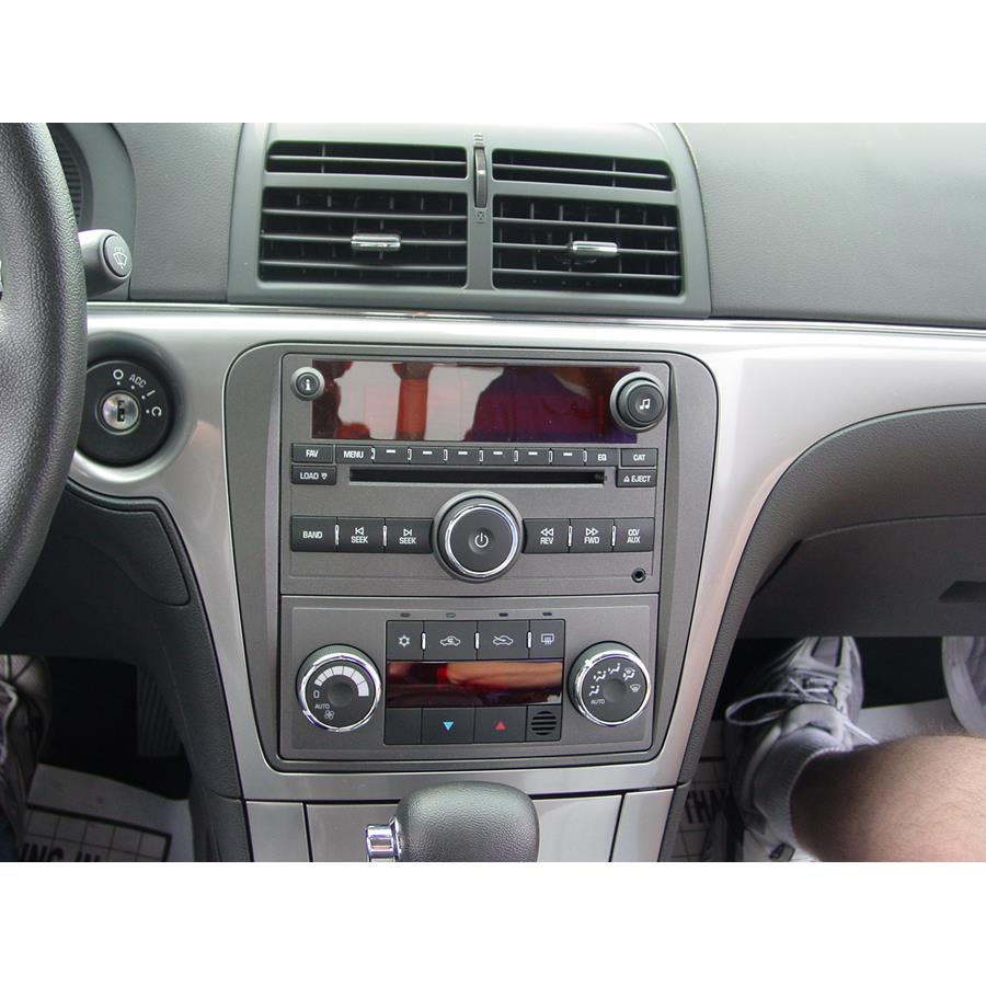 2009 Saturn Aura Factory Radio
