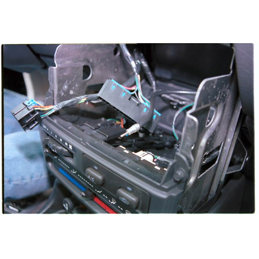 1998 Saturn SC1 Factory radio removed
